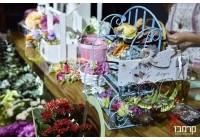 שזירת פרחים לחתונה