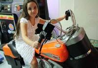 סימולאטור אופנוע הארלי